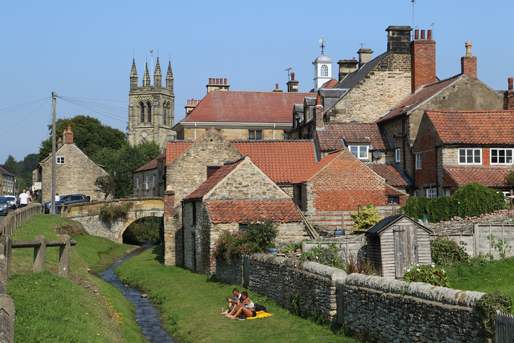 Picture of the market town of Helmsley