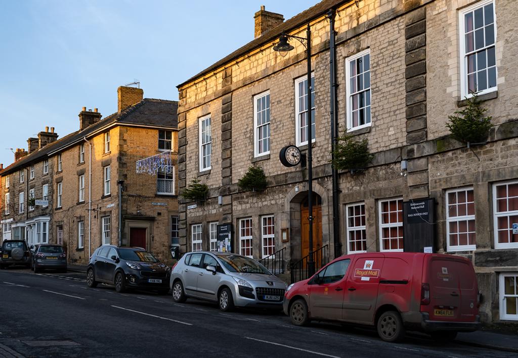 Picture of street scene in Kirkbymoorside