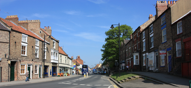 Picture of Commercial Street, a main route in Norton
