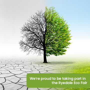 Ryedale District Council will be at the Eco Fair at Pickering Memorial Hall on 18 September from 10am until 3pm.